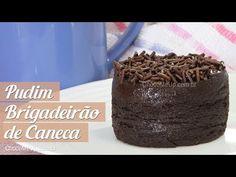 Pudim Brigadeirão de Caneca - Choco Me Up!