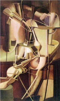 Bride (1912) - Marcel Duchamp