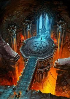 The Room of Ares, Ancient of War Fantasy City, Fantasy Castle, Fantasy Map, Fantasy Places, Medieval Fantasy, Fantasy World, Fantasy Art Landscapes, Fantasy Landscape, Fantasy Concept Art