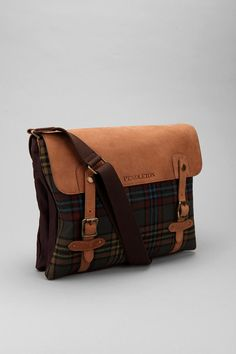 Or I can get this Pendleton Plaid Messenger Bag.... Its nice! (Borat Voice)