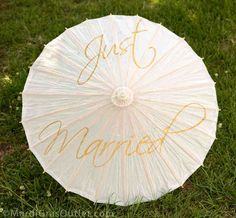 Personalized Umbrellas For Weddings