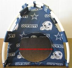 Beds Hammocks and Nesters 149074: Small Dallas Cowboys #1 Pup Tent Pet Bed/ Cat Bed/ Dog Bed/ Toy Box/ Doll Tent BUY IT NOW ONLY: $30.0