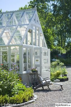 Make a little backyard greenhouse using Rebuilding Center windows & patio doors
