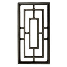 Nuvo Iron Rectangle Decorative Insert for Fencing,Gates, Doors,Home,Garden for sale online Iron Window Grill, Window Grill Design Modern, Grill Door Design, Window Design, Steel Gate Design, House Gate Design, Door Gate Design, Railing Design, Grill Gate