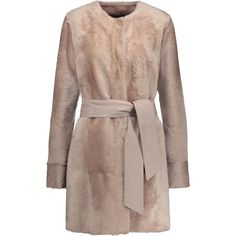 DROME Reversible Hooded Shearling Coat, Brown. #drome #cloth #fur ...