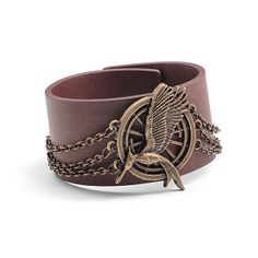 The Hunger Games Catching Fire Mockingjay Chain Cuff