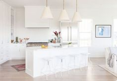 Inlet Beach house tour from Crowell + Co Interiors is a new favorite of mine. It has bright natural light, clean lines, and good modern casual vibes.
