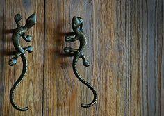 Door handles!