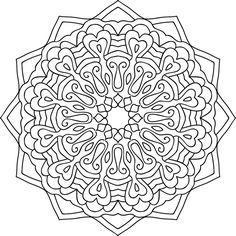 With your own practice, you can spin your own yarn! You just need fiber and a spinning needle. You can craft your own needle and buy fiber from yarn stores Detailed Coloring Pages, Mandala Coloring Pages, Coloring Book Pages, Mandala Art Lesson, Mandala Painting, Printable Coloring Sheets, Spinning Yarn, Doodle Coloring, Colouring Techniques