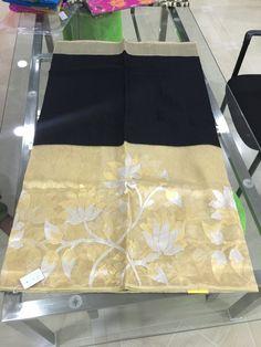 Black gold Banaras saree