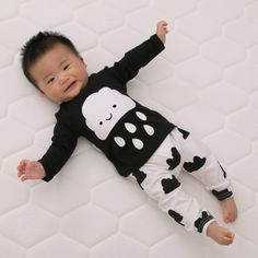 ddbce657fe7d 2017 New cute kids clothes boys baby long sleeve cotton T shirt+Pants suits  retail newborn baby children suits fit 0~2 years-in Clothing Sets from  Mother ...