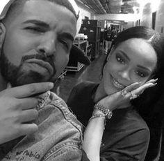 Rihanna and drake, #aubrih, aubrih