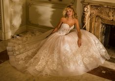 Eve of Milady wedding gowns are created with all the grandeur and elegance a bride could possibly want. Best known for their amazing ball gowns, Eve of Milady does not disappoint with any of their … Eve Of Milady Wedding Gowns, 2016 Wedding Dresses, Bridal Dresses, Wedding Attire, Wedding Bouquets, Mod Wedding, Dream Wedding, Wedding Ideas, Wedding Planning