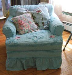 Sweet chenille upholstery