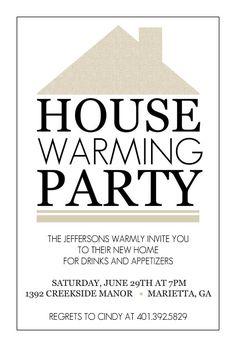 Free Housewarming Party Invitations Printable   Invitations ...