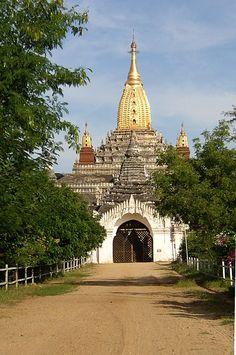 Ananda Temple . Bagan Myanmar