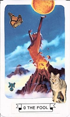 O The Fool - Connie's Collage Tarot Deck