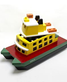 Wooden Toy Ferry