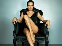 Love this picture of Angie, one of my favourite philanthropist.