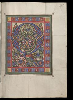 Zürich, Zentralbibliothek, Ms. Rh. 167: Psautier de Rheinau · vers 1260 Langue:Latin   . (http://www.e-codices.unifr.ch/fr/list/one/zbz/Ms-Rh-0167)