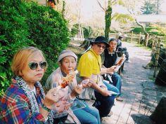 happy with friends #grandmainJapan