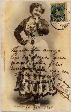 Old postcard... notice postmark!
