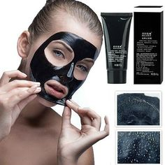 Buy Deep Cleansing Blackhead Removing Skin Purifying Face Peel by Blaze on OpenSky Popcorn Bar, Tips And Tricks, Homemade Face Masks, Diy Face Mask, Skin Peeling On Face, Charcoal Mask Peel, Avocado Face Mask, Face Peel, Cleansing Mask