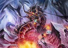 A Burning Battle by Dragolisco on DeviantArt