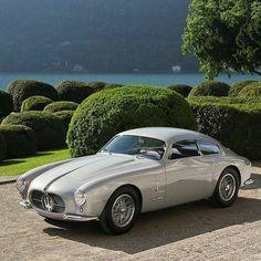 """doyoulikevintage: """"1956 Maserati zagato """""""