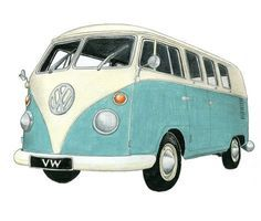 VW bus. My husband and I finally got one in the 80's and went camping everywhere in that thing! Coolest vehicle ever!