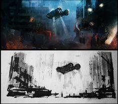 Blade Runner Fan Art Copy by AlexanderBrox0101 on deviantART