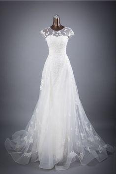Lace Wedding Dress, Long Wedding Dresses, Bridal Dresses, Wedding Gowns, Ivory Wedding, Wedding Veil, Organza Dress, Tulle Lace, Dress Lace
