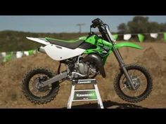 New : 2014 KawasakiKX65AEF - KX65 - Lime Green
