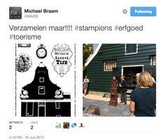 """""""Verzamelen maar!!!"""", tweet van Michael Braam (@MikBS)"""