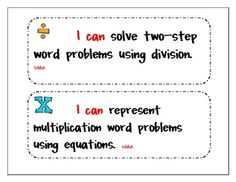 Common Core Third Grade Math Standards
