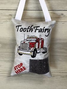Keepsakes Tooth Fairy Pillow Lost Tooth Pocket Cushion Birthday Gift Easter