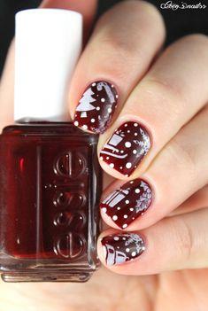 ▲ ▼ ▲ Coco's nails ▲ ▼ ▲: Christmas # 3 - Small Christmas things