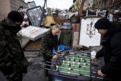 Football, not war. Always.
