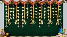 Indian Wedding Deco, Outdoor Indian Wedding, Desi Wedding Decor, Floral Wedding Decorations, Flower Decorations, Leaf Decoration, Wedding Stage Backdrop, Wedding Backdrop Design, Wedding Stage Design