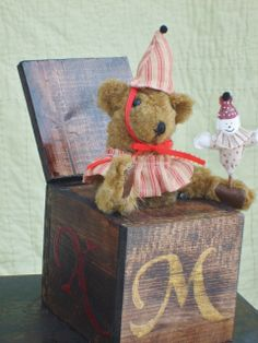 Our Bear with a Hand Puppet from the Jack in the Box series!