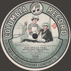 "The Columbia label was also distributed under various formats depending on genre of music and the country where the discs were marketed. This was mostly due to all kinds of legal wrangling. ""Graphophone"" indicates a British label."