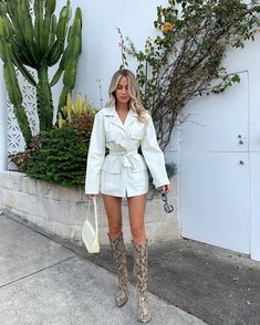 "EM on Instagram: ""🐍🌵 @lioness_official"" Head To Toe, Spring Summer Fashion, Victorious, Dresses Online, Going Out, Duster Coat, White Dress, Jackets, Shirts"