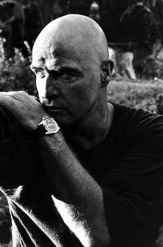 Born to act. Marlon Brando as Colonel Walter E. Kurtz, Apocalypse Now! (1979)