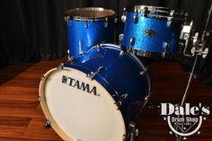 "Tama drum sets Starclassic Performer BB Vintage Blue Sparkle 12"", 16"", 22"" kit New   Reverb"