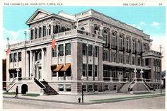 Cuban Club, Ybor City. 1920-1930