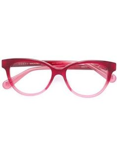 Shop online red Gucci Eyewear cat eye glasses as well as new season, new arrivals daily. Cute Sunglasses, Cat Eye Sunglasses, Sunglasses Women, Vintage Sunglasses, Red Cat Eye Glasses, Fashion Eye Glasses, Designer Glasses Frames, Cat Eye Colors, Gucci Eyewear