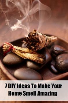 7 DIY Ideas To Make Your Home Smell Amazing - Hey this is pretty cheap! it better work..