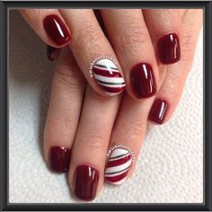 christmas by michellerose222 #nail #nails #nailart