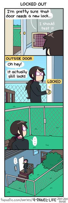 4-Panel Life   Tumblr   Twitter   Tapastic   Facebook - @holr.co