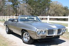 1969 Pontiac Firebird. Find parts for this classic beauty at http://restorationpartssource.com/store/